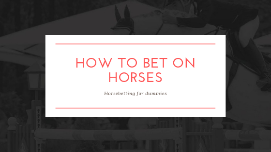 how to bet on horses